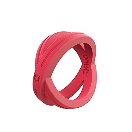 Tough q2x material qalo women's functional silicone ring