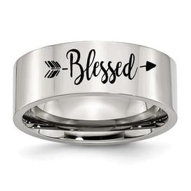 Engraved fashion rings for women