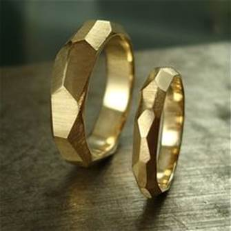 Geometric fashion rings
