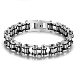Bike chain bracelet - 316L Stainless Steel Cool Women Jewelry Bicycle Motorcycle Biker Chain Bracelets & Bangles Fashion