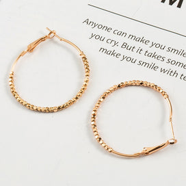 Hoop earrings for women - Hoop Earrings Fashion Big Circle Round Earrings Basketball Loop Earrings For Women Earrings Jewelry