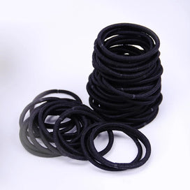 Hair bands for girls - 10 PCS Women Hair Accessories Classic Black Seamless Elastic Hair Bands Girl Hairband Hair Rope Gum