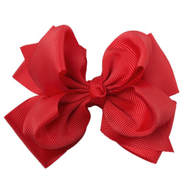 Hair bows for girls - 1 PC Boutique 4inch Hair Bows With Alligator Clip Girls Hair Bow With Clip Cute Hairclip For Women Hair