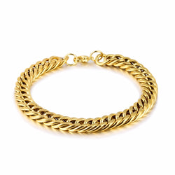 Bike chain bracelet - Fashion Jewelry Stainless Steel Bracelet Simple Personality Bicycle Chain Shape Bracelets For Women