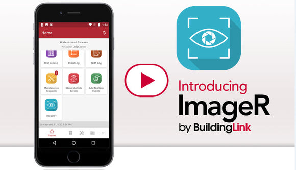 ImageR by BuildingLink package-scanning solution