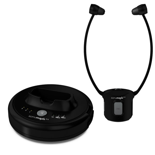 Sonumaxx 2.4 Digital Headset System - transmitter and stethoscope receiver