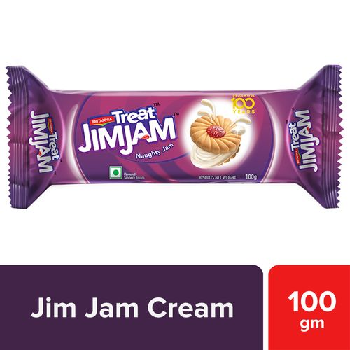 Britannia Jim Jam Treat Biscuits