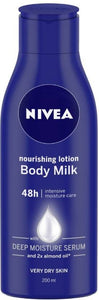 Nivea Body Milk Nourishing Lotion  (200 ml)