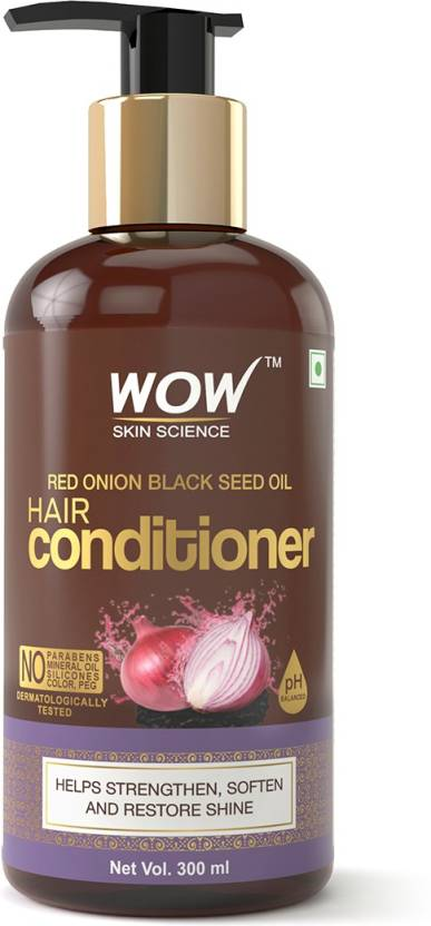 WOW Skin Science Red Onion Black Seed Oil Hair Conditioner with Red Onion Seed Oil  (300 ml)