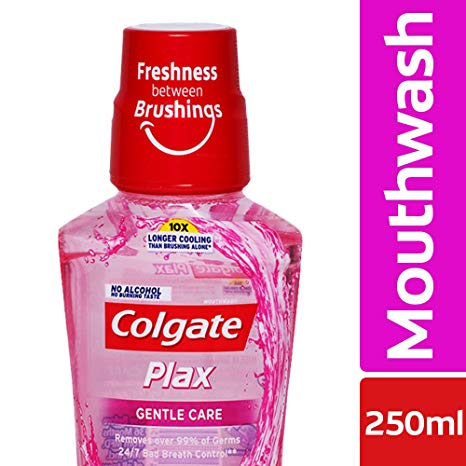 Colgate Mouthwash - Colgate Plax, Gentle Care, 250 ml