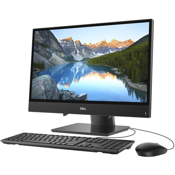 Dell Inspiron i3277-3838BLK 21.5-inch All-in-One Desktop (7th Gen Core i3/4GB/1TB/Windows 10/Integrated Graphics), Black by Dell