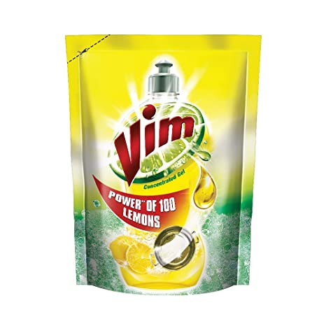 Vim Concentrated Gel Pouch 155ml