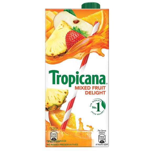 Tropicana Mixed Fruit Delight 1l