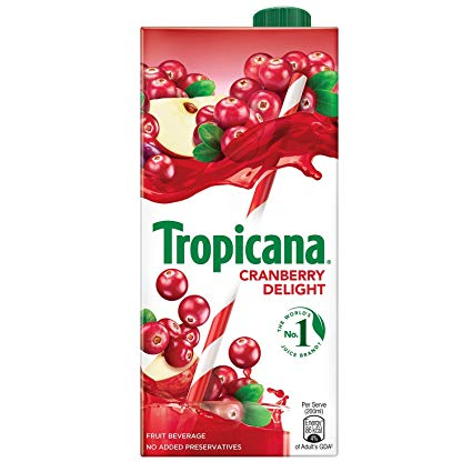 Tropicana Cranberry Delight 1l