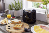 Philips Daily Collection HD2583/90 600-Watt 2 in 1 Toaster and Grill (Black)