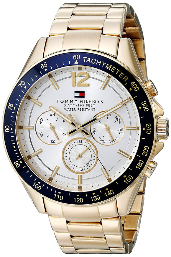 Tommy Hilfiger Analog Silver Dial Men's Watch - NATH1791121J