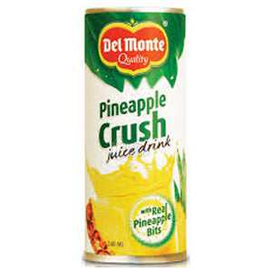 Pineapple Crush Fruit Drink Del Monte 180 ML