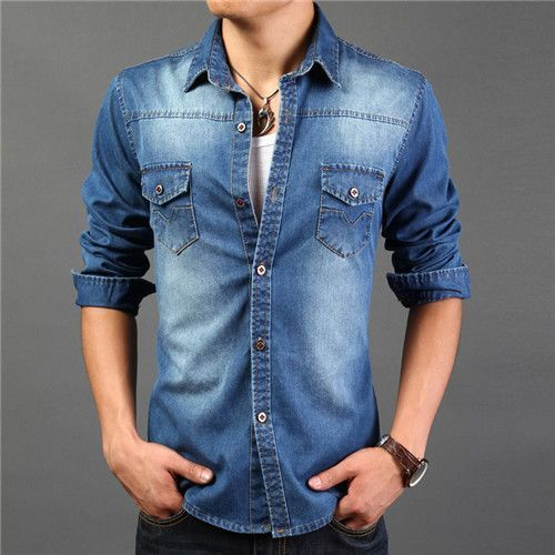 MEN DENIM SHIRTS (Laundry)