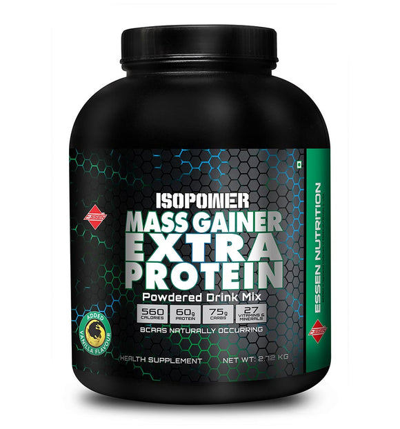 ISOPOWER MASS GAINER EXTRA PROTEIN