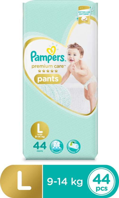 Pampers Premium Care Pants Diapers - L  (44 Pieces)