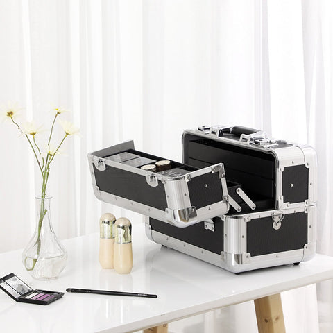 Songmics Black Vanity Case