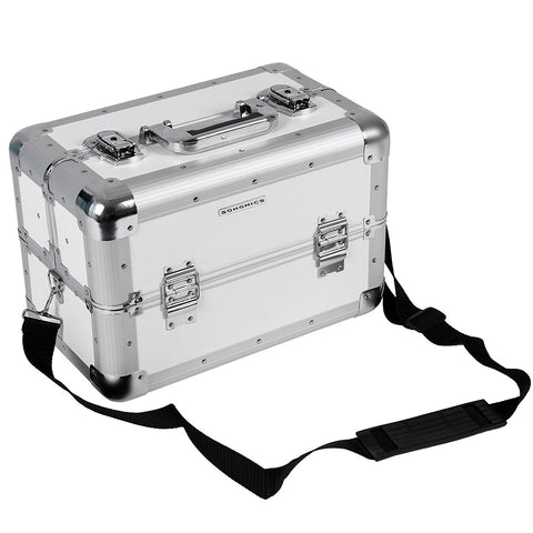 Somgmics White Vanity Case