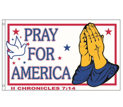 Pray for America Project Flag