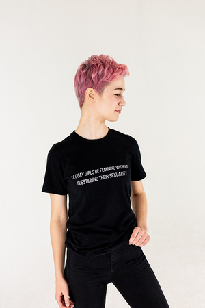 Let Us Be Soft-Style Tee