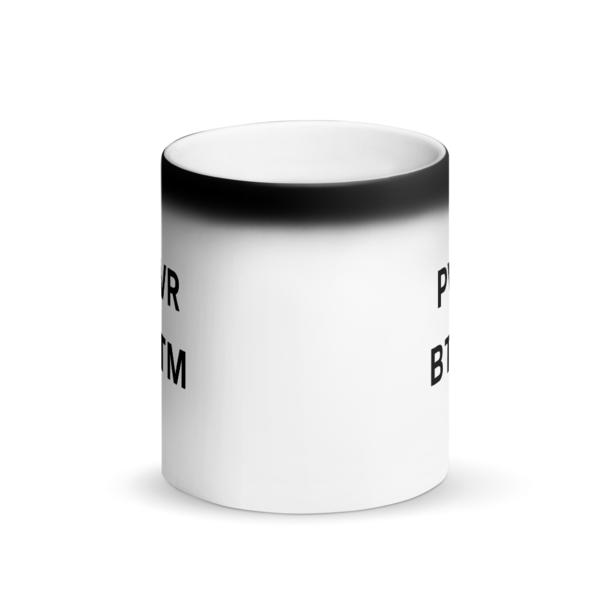 PWR BOTTOM Color Changing Mug