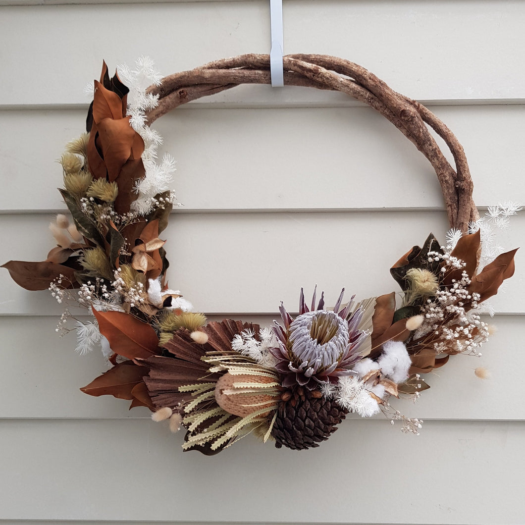 Dried Wreath #002 Large