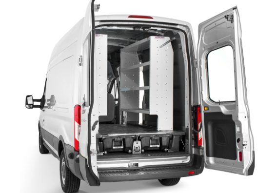 How To Install Van Shelving With The Decked System