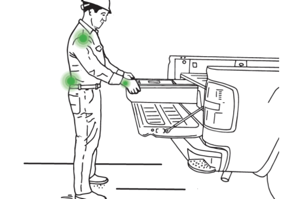 Ergonomic White Paper Supports Decked