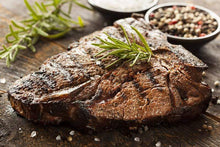 "Load image into Gallery viewer, Chapman 3C Cattle Company Beef For Sale 2"" Thick Cut / 32-36 oz. Average T-Bone Steak"