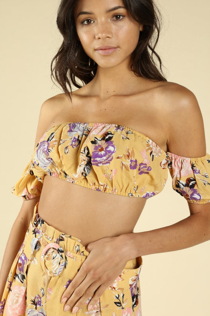 floral print, off the shoulder crop top, yellow crop top, happy holidays, merry christmas, christmas outfit, christmas dress, christmas party dress, corduroy, maxi dress, corduroy bell bottoms, black lace maxi dress, santa claus sweatshirt, chenille sweater, velvet wrap dress, leopard print lounge set, sequin blazer, sequin joggers, loungewear, new years eve outfit, holiday outfits, sweater dresses
