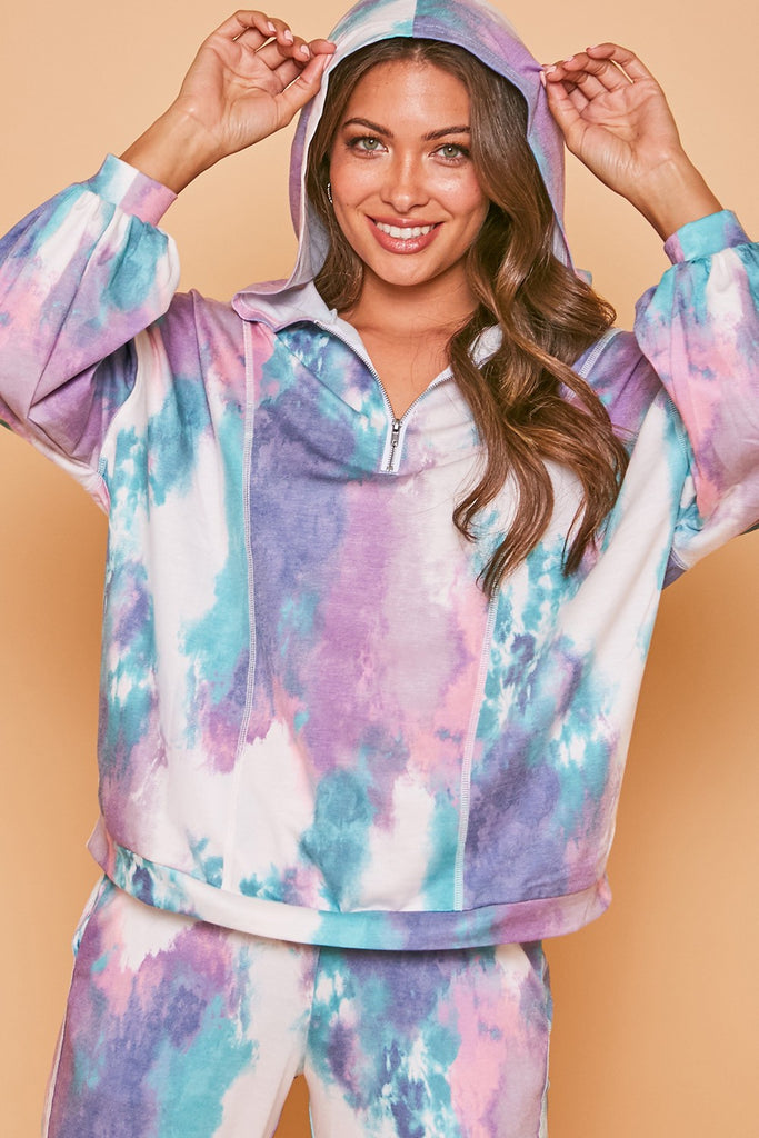 blue tie dye, purple tie dye, tie dye hoodie, tie dye sweater, tie dye set, tie dye joggers, purple tie dye joggers, blue tie dye joggers, happy holidays, merry christmas, christmas outfit, christmas dress, christmas party dress, corduroy, maxi dress, corduroy bell bottoms, black lace maxi dress, santa claus sweatshirt, chenille sweater, velvet wrap dress, leopard print lounge set, sequin blazer, sequin joggers, loungewear, new years eve outfit, holiday outfits, sweater dresses