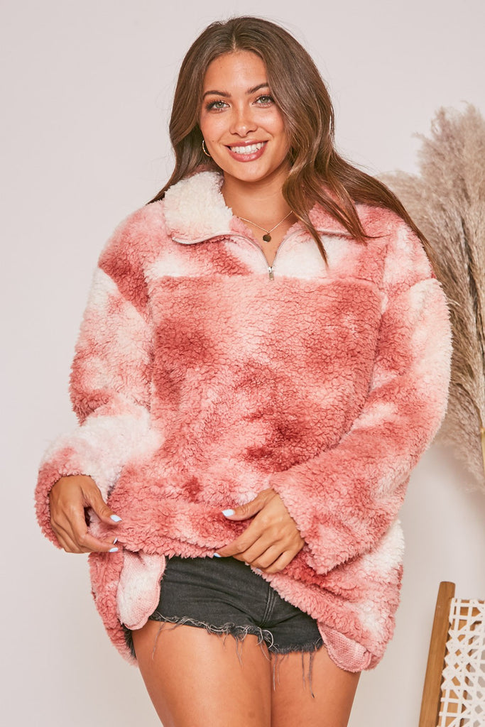 tie dye sherpa pullover, tie dye sherpa jacket, pink tie dye sherpa, sherpa pullover, maxi dress, sweater dresses, loungewear, women's loungewear sets, sweaters, loungewear set, tie dye sherpa pullover, mieral wash hoodie, clothes, cute clothes for women, plus size store, black maxi dress, leopard print cardigan, leopard print joggers, black jumpsuit, sherpa pullover, joggers, oversized sweaters, floral maxi dress, tie dye lounge set, cute loungewear, trendy loungewear