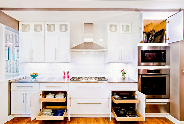 How to Organize Kitchen Cabinets and Drawers for Good (18 photos)