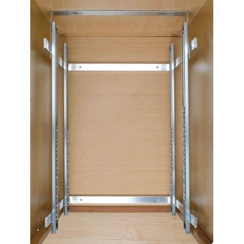 Best seller  rev a shelf 5wb2 2122 cr 21 in w x 22 in d base cabinet pull out chrome 2 tier wire basket