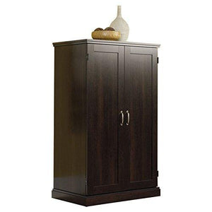 Amazon brown storage desk armoire computer workstation cabinet home organizer office shelves closet bedroom study executive furniture