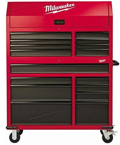 Explore heavy duty drawer 16 tool chest 46 in and rolling cabinet set red and black personal valuables storage drawer with separate lock in the tool chest