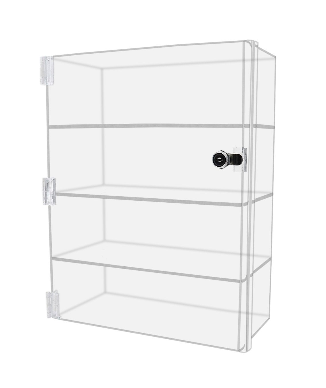 Amazon best marketing holders acrylic lucite countertop display case showcase box cabinet 12w x 7d x 16h bakery pastry bread cabint or collectibles