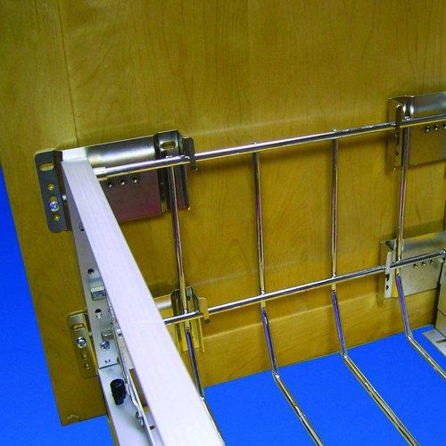Rev-A-Shelf 5345-DM-KIT-52 Door Mount Extenders - Wire-Chrome