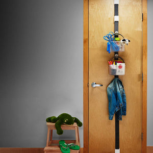 madesmart 95-79800-06 Hanging Door Caddy System Gray