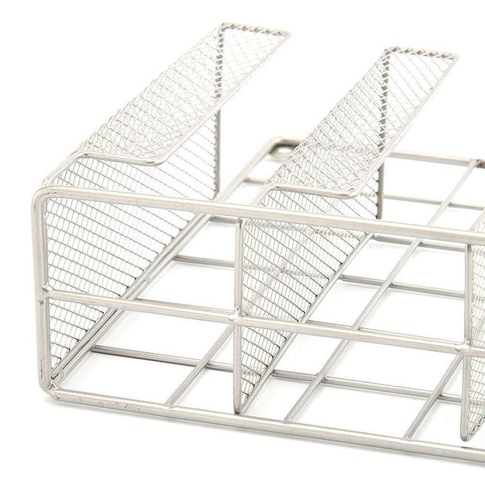 EZOWare Silver Finish Wall Door Mount Kitchen Wrap Organizer Silver Rack For Food Storage Bags, Aluminum Foil, Wax Paper, Sandwich Bags, Plastic Wrap