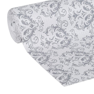Try duck smooth top easy liner shelf liner top cabinet multipack 6 rolls each 12 width 10 length grey damask fð¾ur ñ€ð°ñ�k