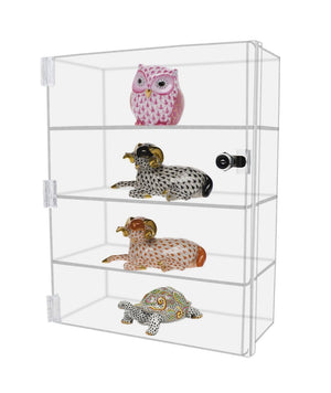 Best seller  marketing holders acrylic lucite countertop display case showcase box cabinet 12w x 7d x 16h bakery pastry bread cabint or collectibles
