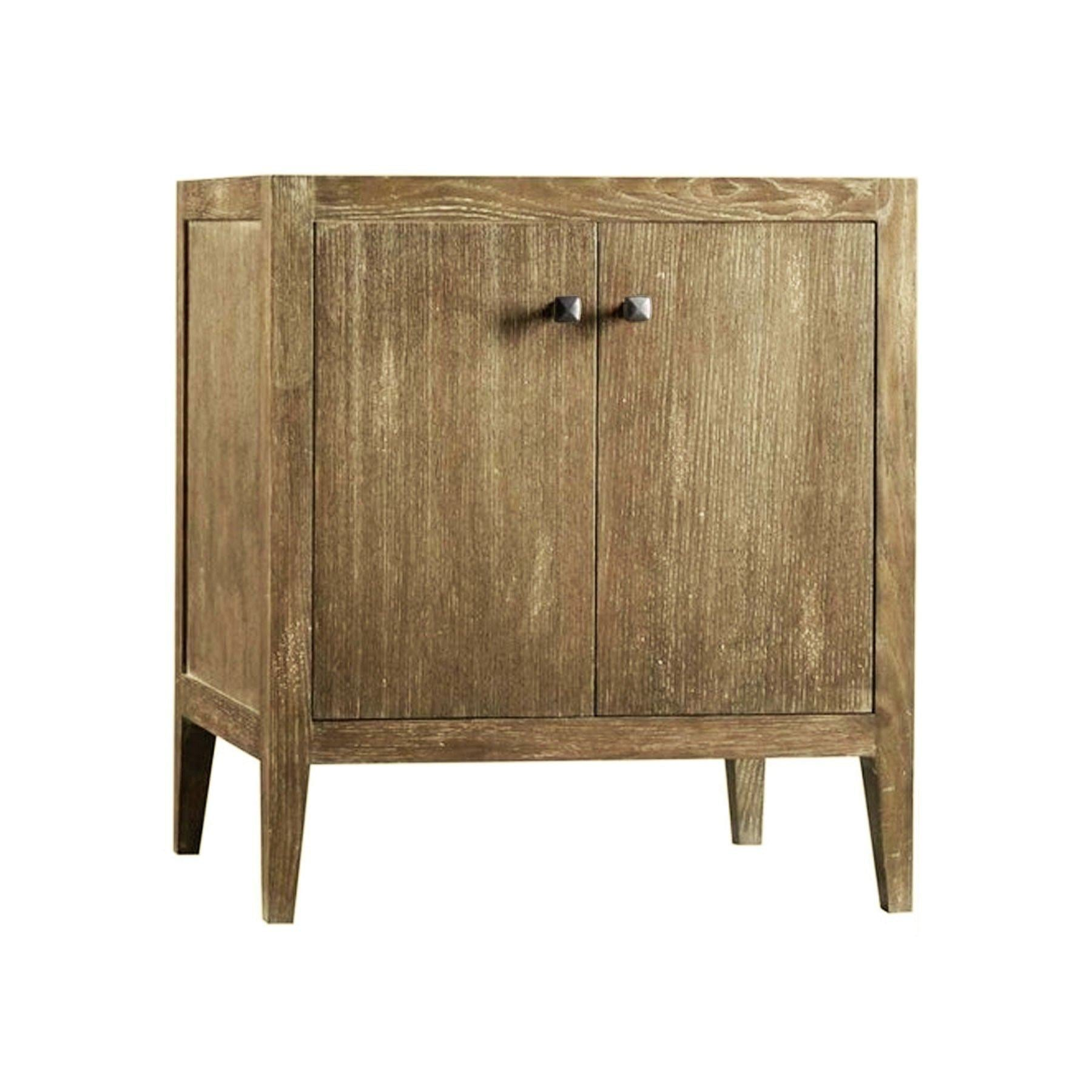 Shop for maykke 30 glenn single bathroom vanity base cabinet only contemporary grey brown hardwood construction tapered legs premium metal knobs weathered natural ysa1900202