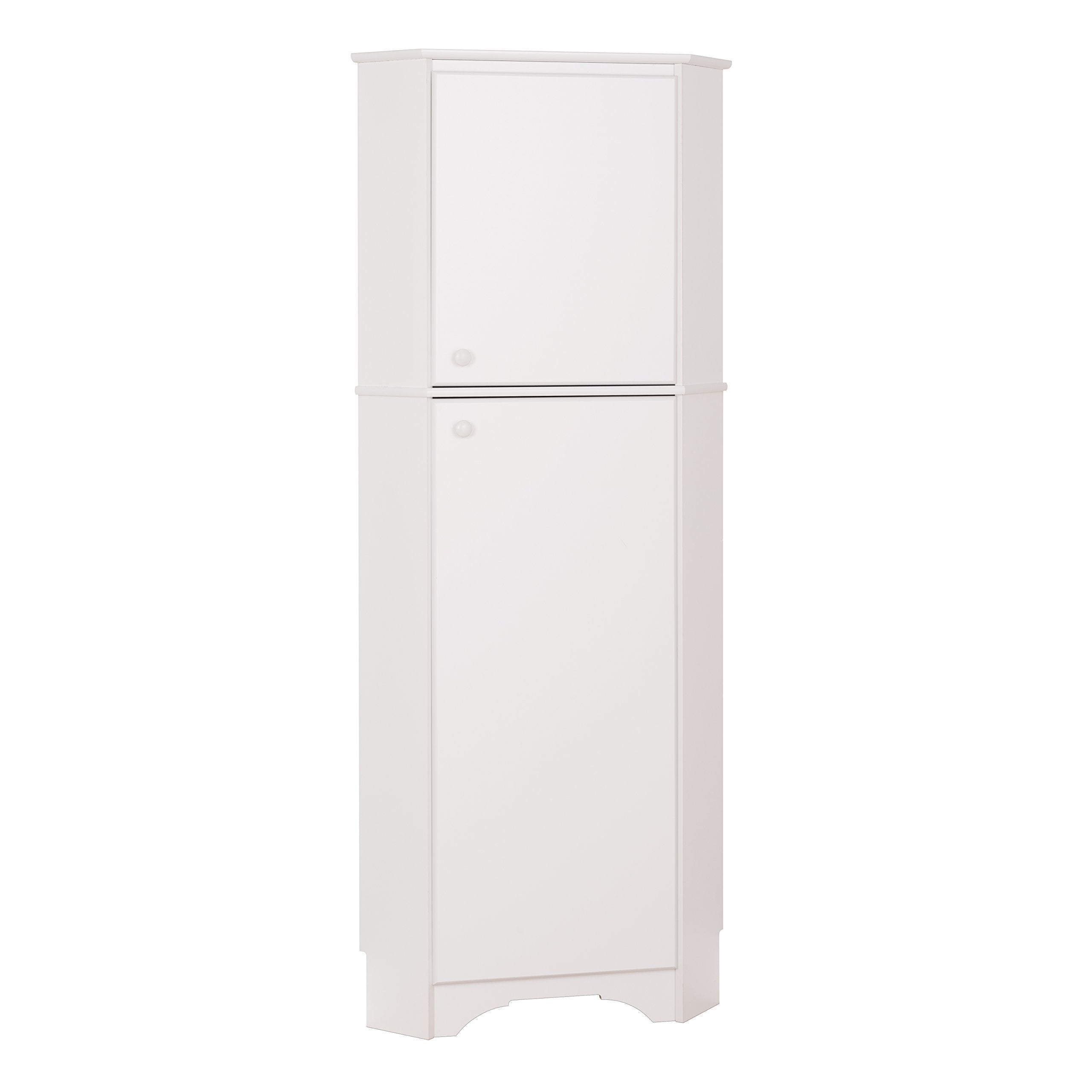 Top rated prepac wscc 0605 1 elite home corner storage cabinet tall 2 door white
