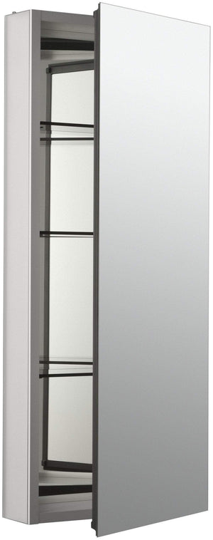 Related kohler k 2913 pg saa catalan mirrored cabinet with 107 hinge 1 satin anodized aluminum