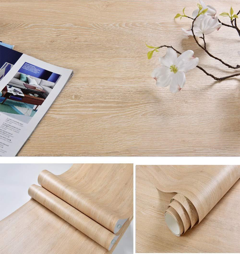 Cheap glow4u self adhesive faux light wood vinyl contact paper kitchen cabinets shelves drawer cupboards table desk arts crafts decal 15 7 x117 inches